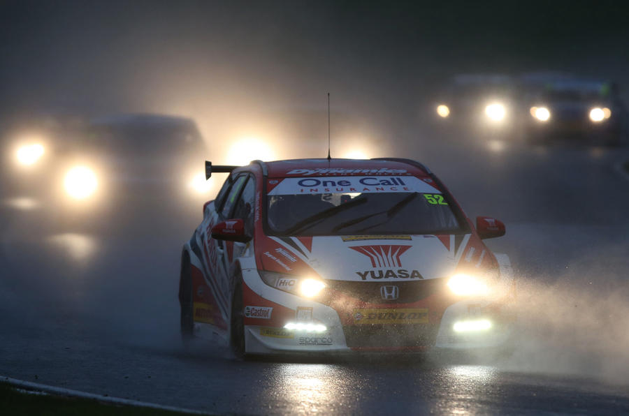 Colin Turkington wins the 2014 Dunlop MSA BTCC championship