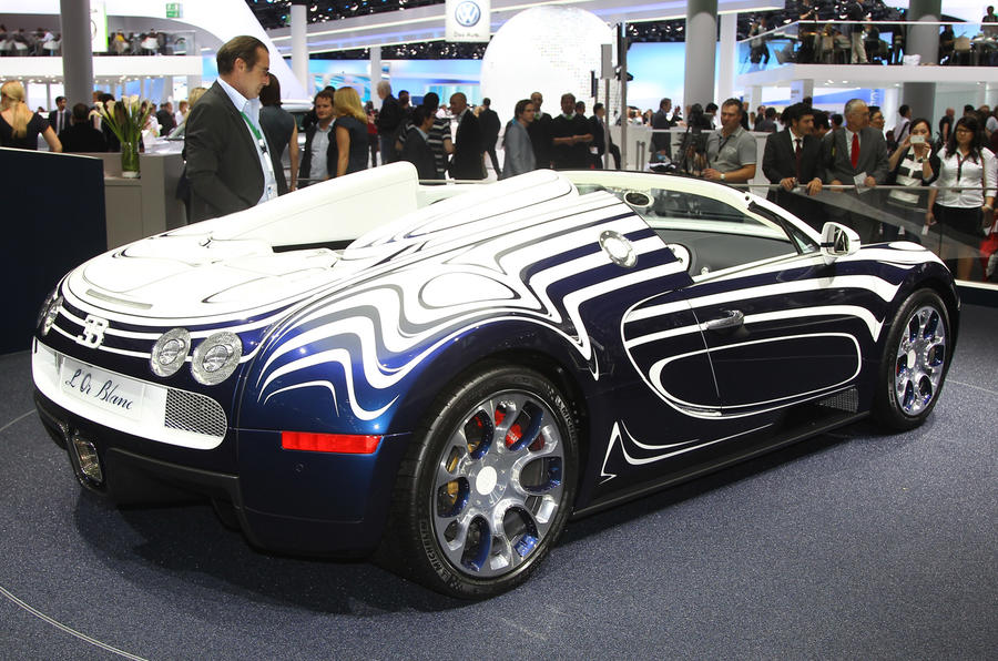 Frankfurt show - Bugatti L'Or Blanc