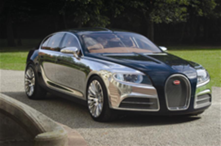Bugatti 16C is 'a concept'