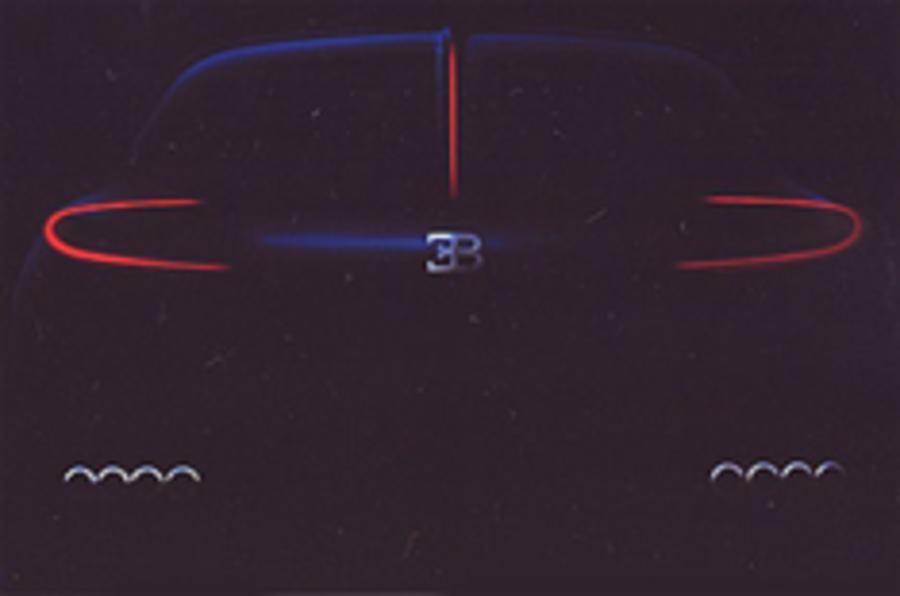Update: new Bugatti teaser pic