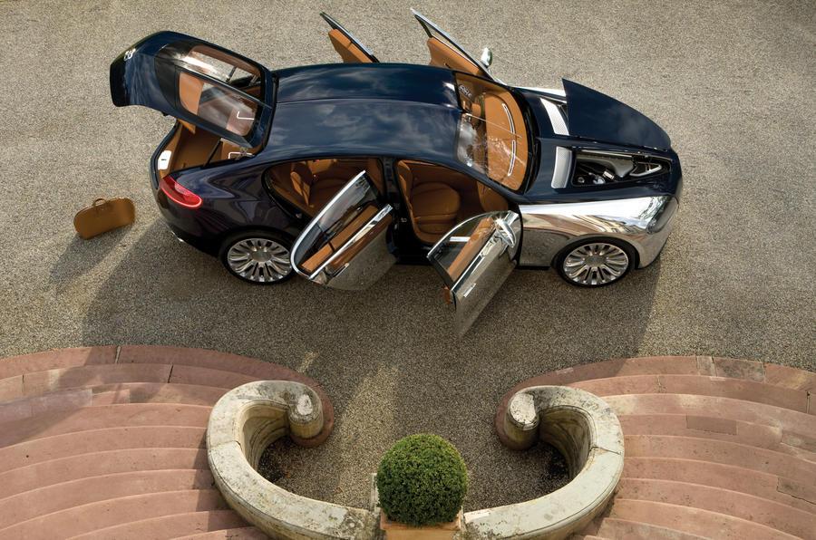 New Bugatti saloon in 2013