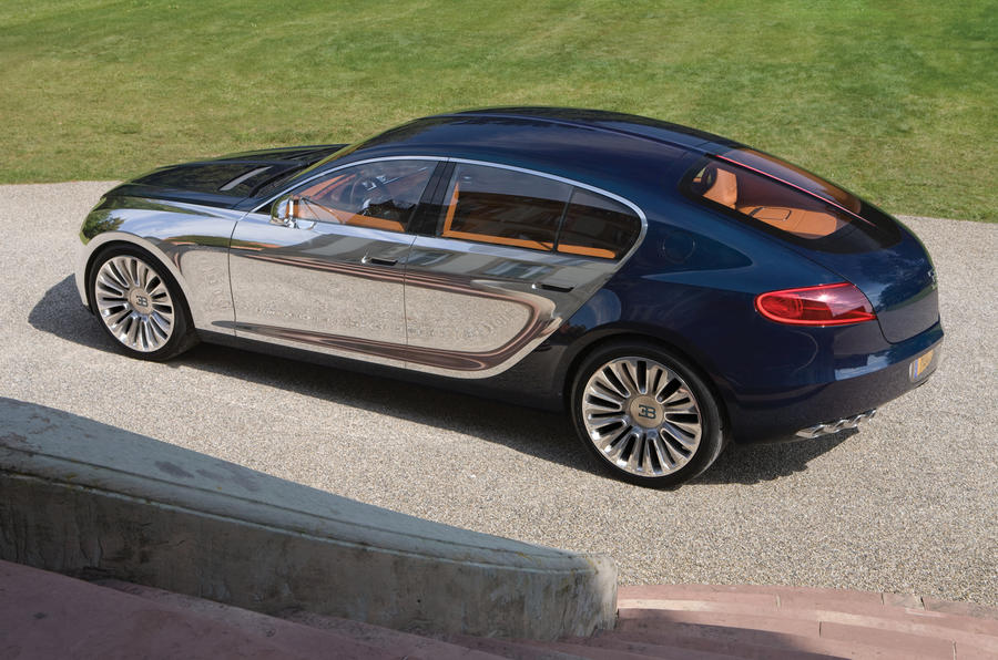 New Bugatti saloon in 2013