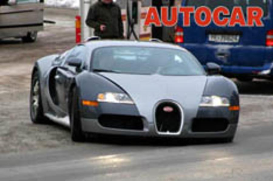 Bugatti on target