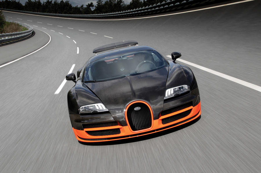 Bugatti sets land speed record