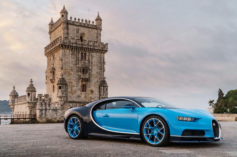 4 star Bugatti Chiron