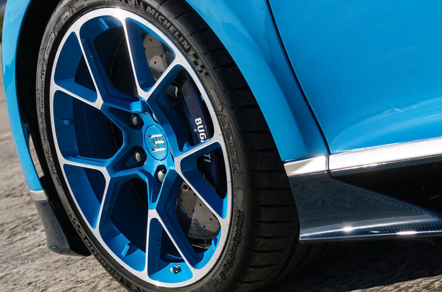 Bugatti Chiron alloy wheels