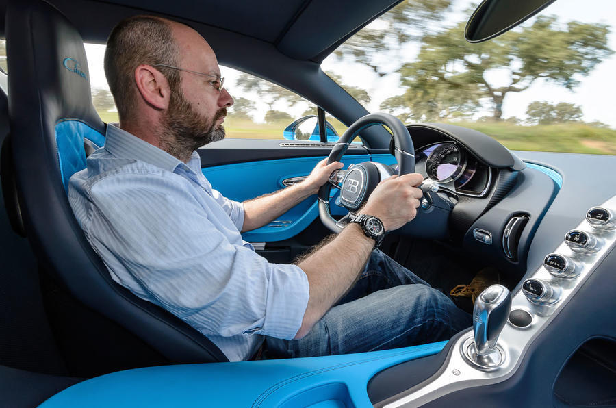 Driving the Bugatti Chiron