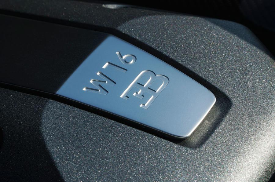 Bugatti Chiron W16 plaque
