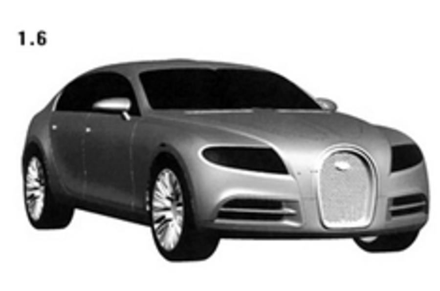 Bugatti 16 C Galibier patented