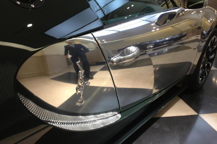 London hosts record-breaking Bugatti Veyron display
