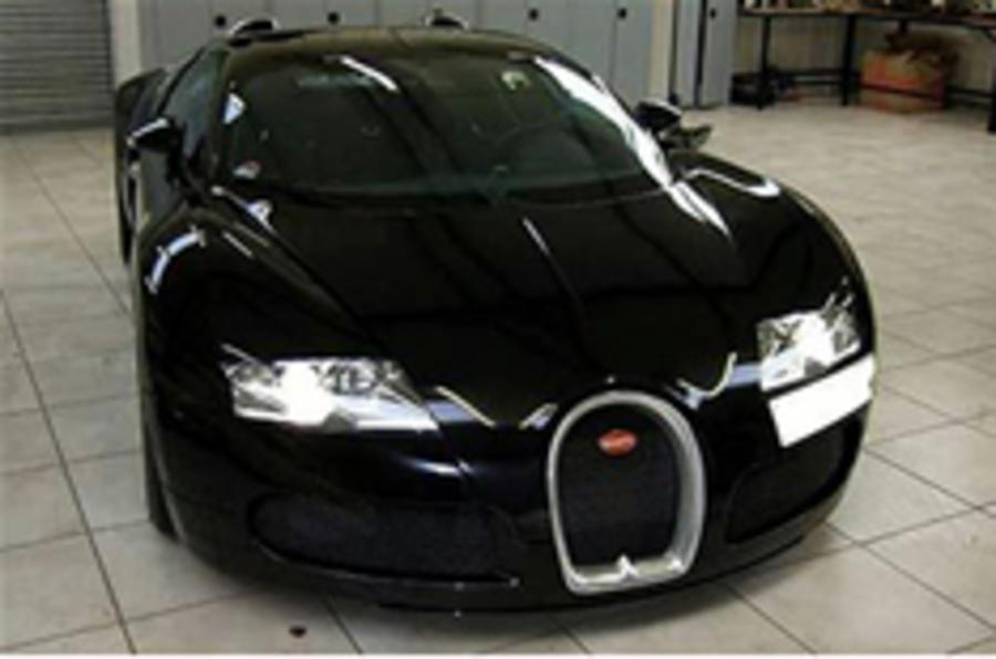 Button's Veyron for sale again