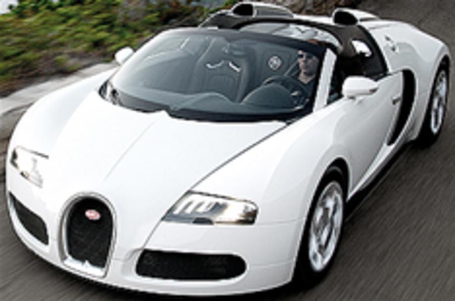 Bugatti Veyron Grand Sport revealed