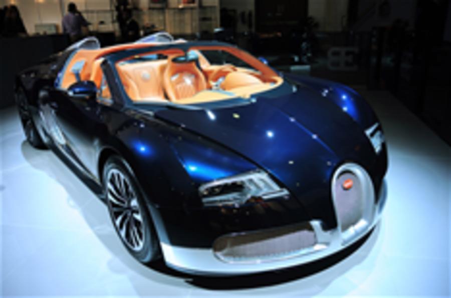 Trio of new Bugatti Veyrons