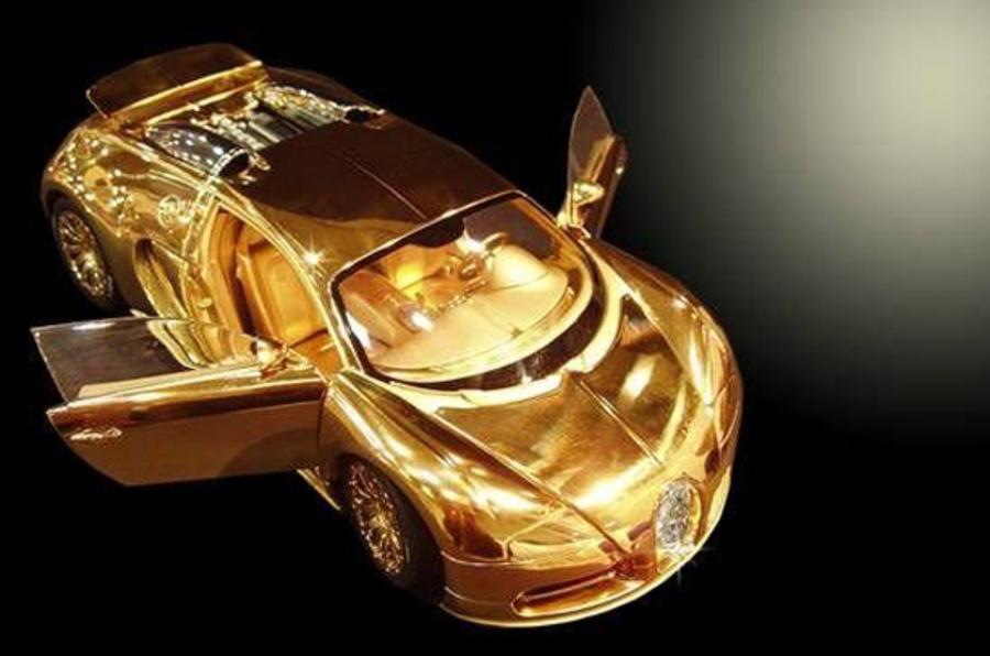 £2m Solid Gold Bugatti Veyron ...