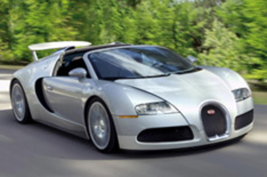 Bugatti cabrio on the way