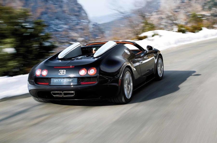 Geneva: Bugatti Veyron Grand Sport