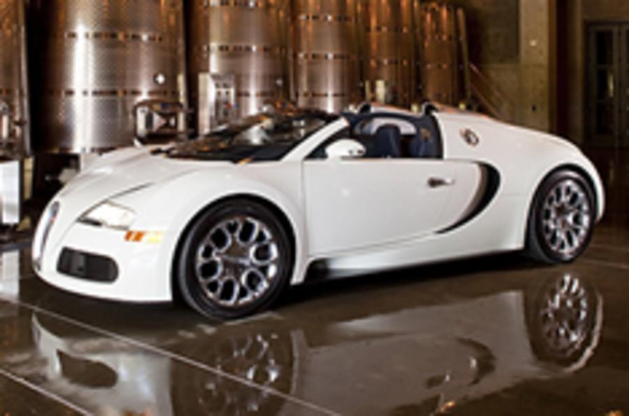 New Veyron Grand Sport images