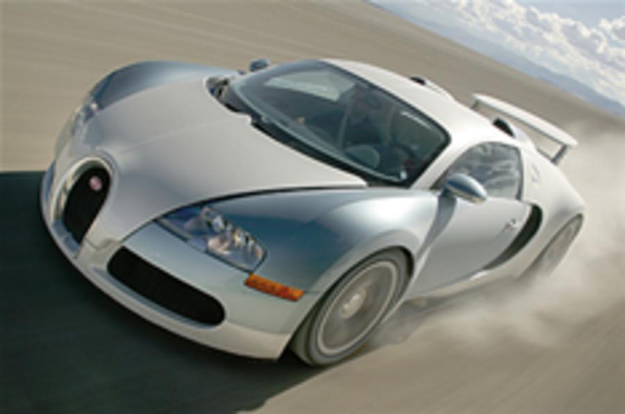 Bugatti plans Veyron replacement