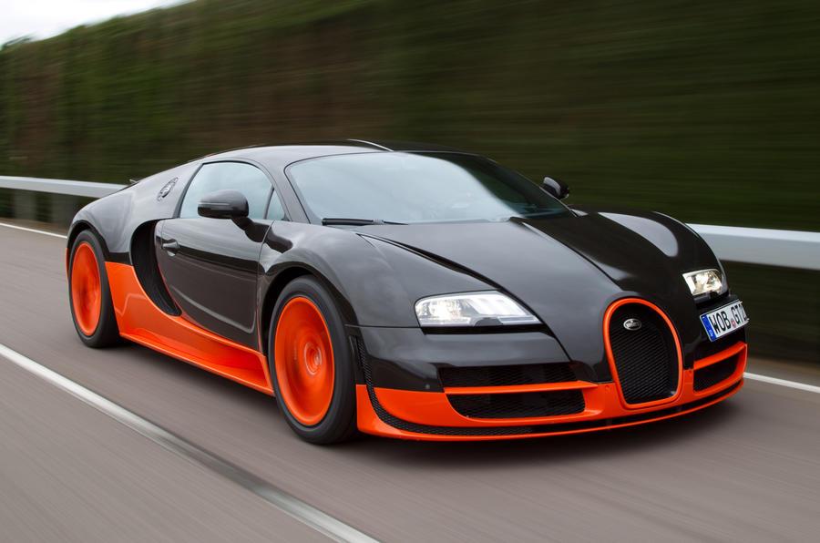 Final Bugatti Veyron sold