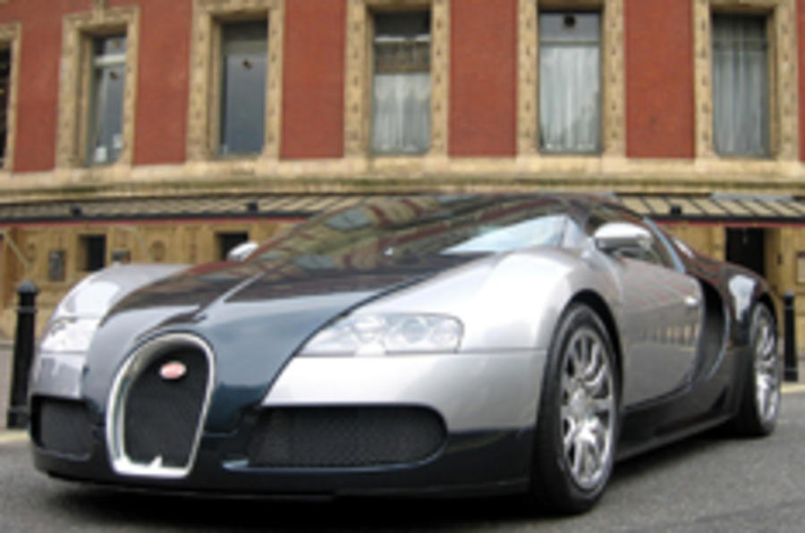 The UK's first Veyron, the Phantom Black