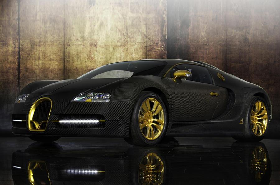 Mansory's Bugatti Veyron launched