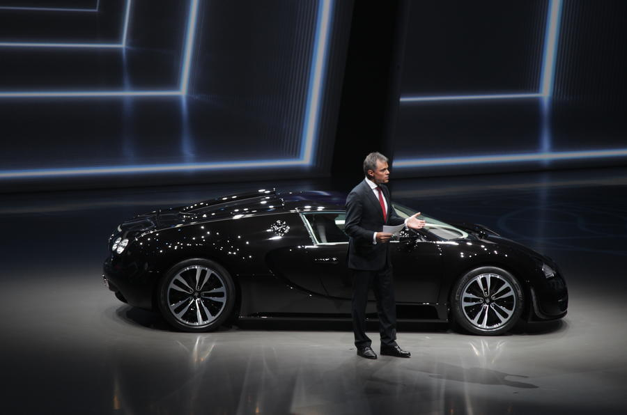 'Jean Bugatti' Veyron revealed