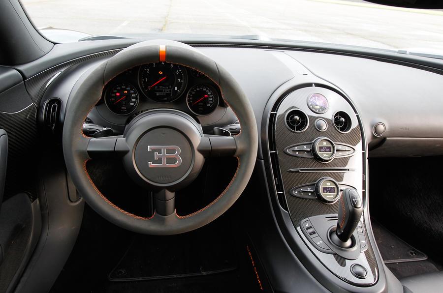 Bugatti 2015 interior