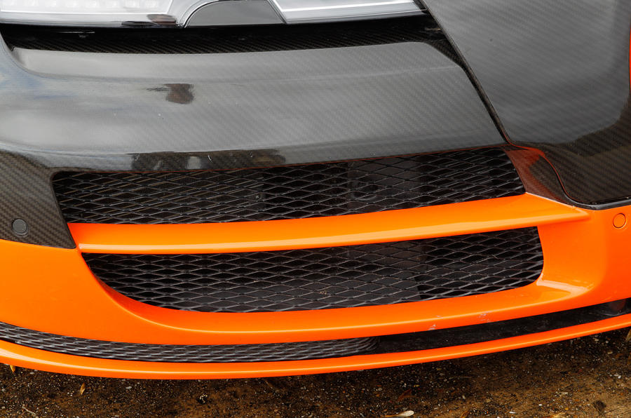 Bugatti Veyron cooling ducts
