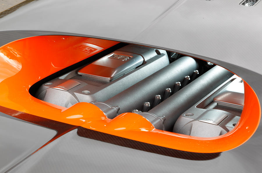 Bugatti Veyron engine cover