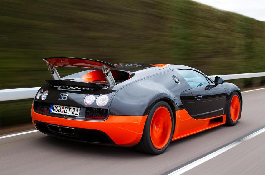 Awesome Bugatti Veyron Super Sport