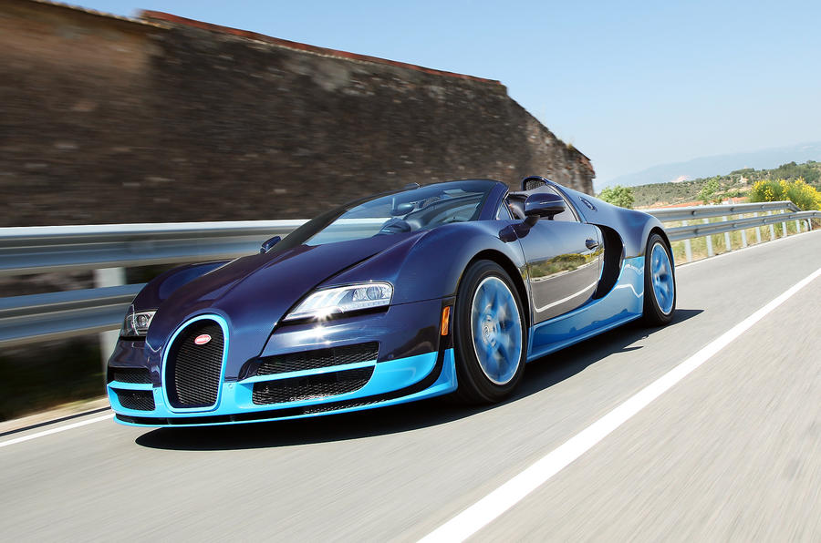 Bugatti plans new 286mph Veyron successor