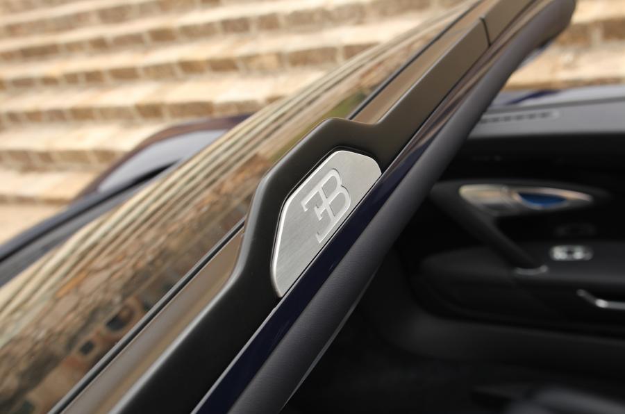 Bugatti Veyron badging
