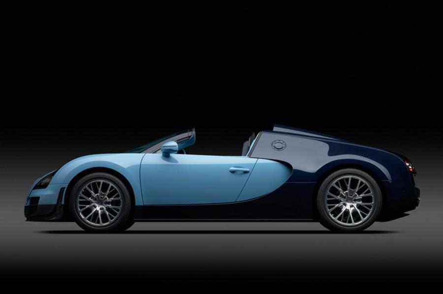 Fourth Bugatti Veyron Legend for Geneva reveal