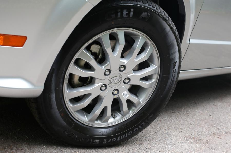 BYD e6 alloy wheels