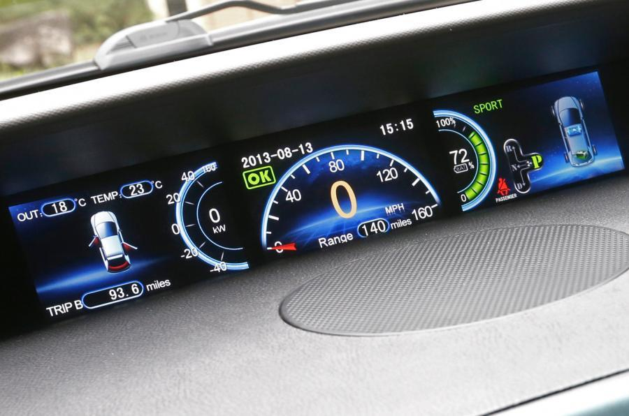 BYD e6 electronic instrument cluster