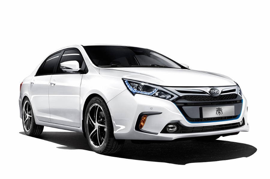 BYD Qin performance EV launched