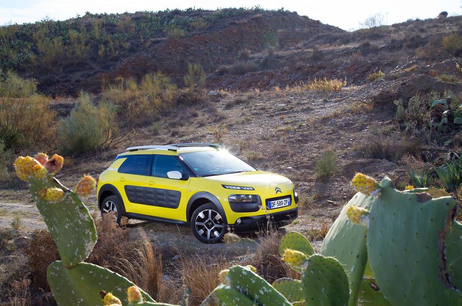 citro n c4 cactus versus the desert picture special autocar. Black Bedroom Furniture Sets. Home Design Ideas