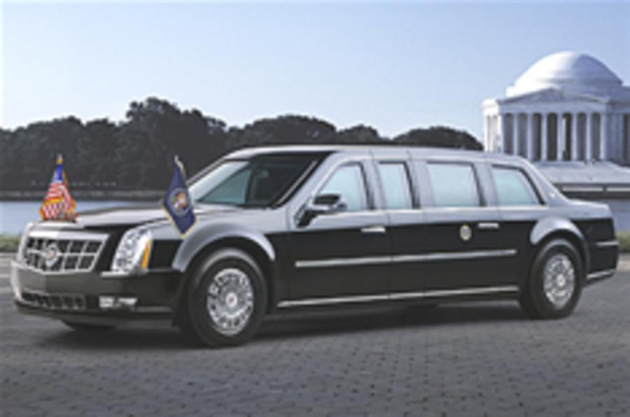 Revealed: Obama's company car