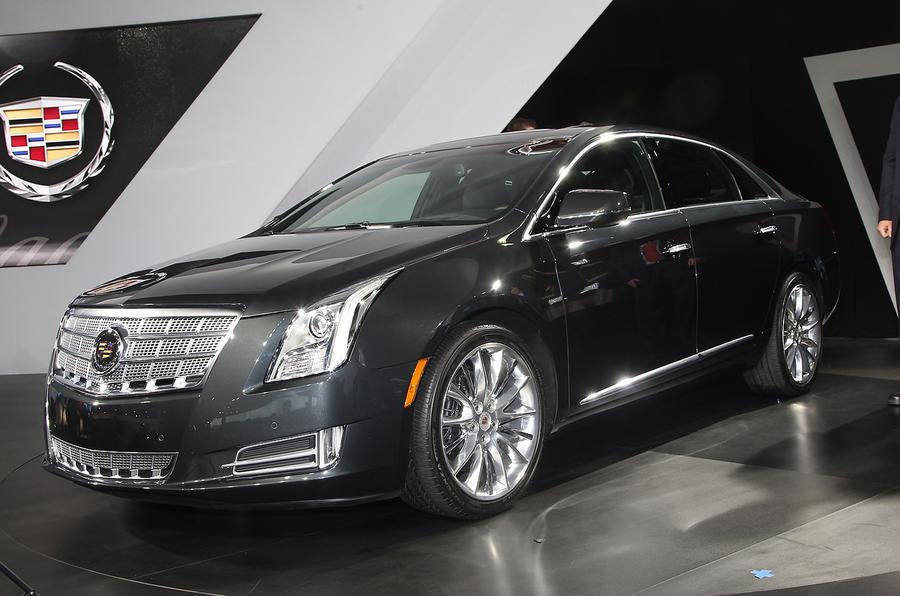LA motor show: new Cadillac XTS