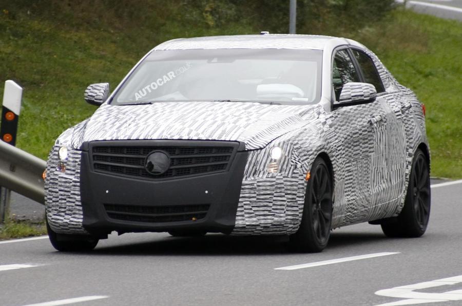 Cadillac ATS spied testing