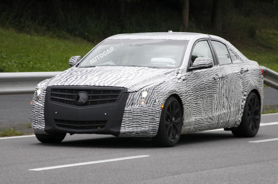 Cadillac ATS spied testing
