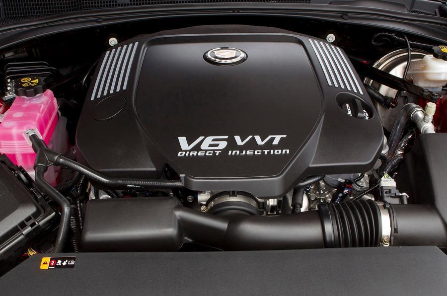 Cadillac ATS V6 engine
