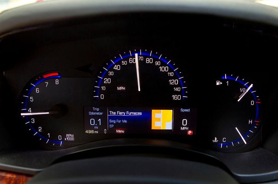 Cadillac ATS instrument cluster
