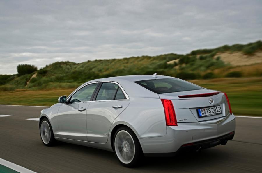 Cadillac ATS rear