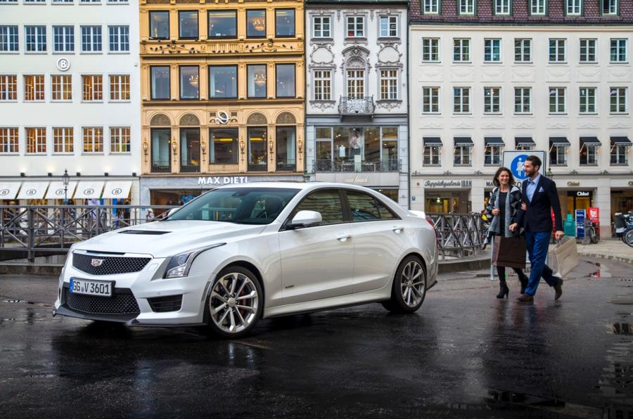 4 star Cadillac ATS-V