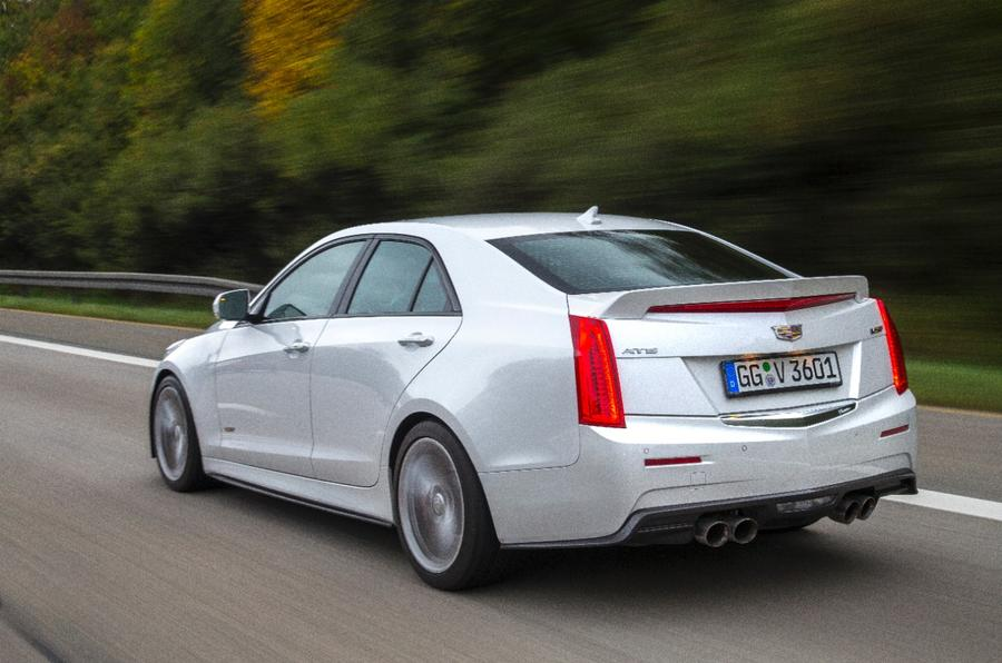 Cadillac ATS-V rear