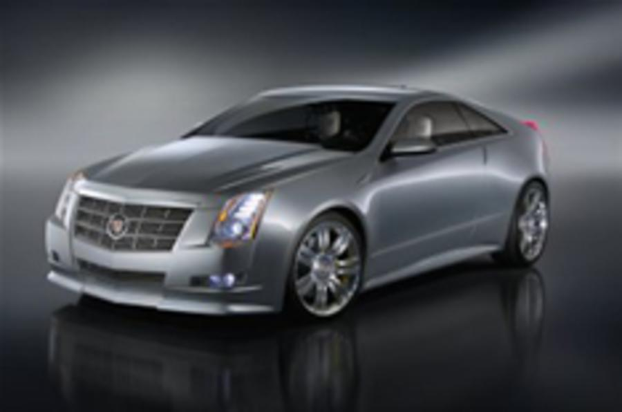 Cadillac springs a surprise: CTS Coupe