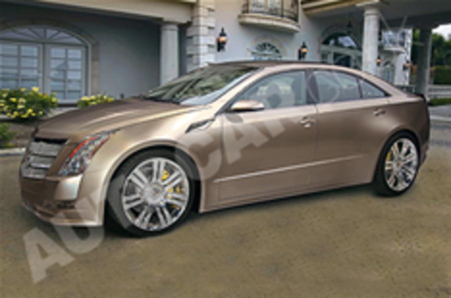 Cadillac saloon goes rear-drive