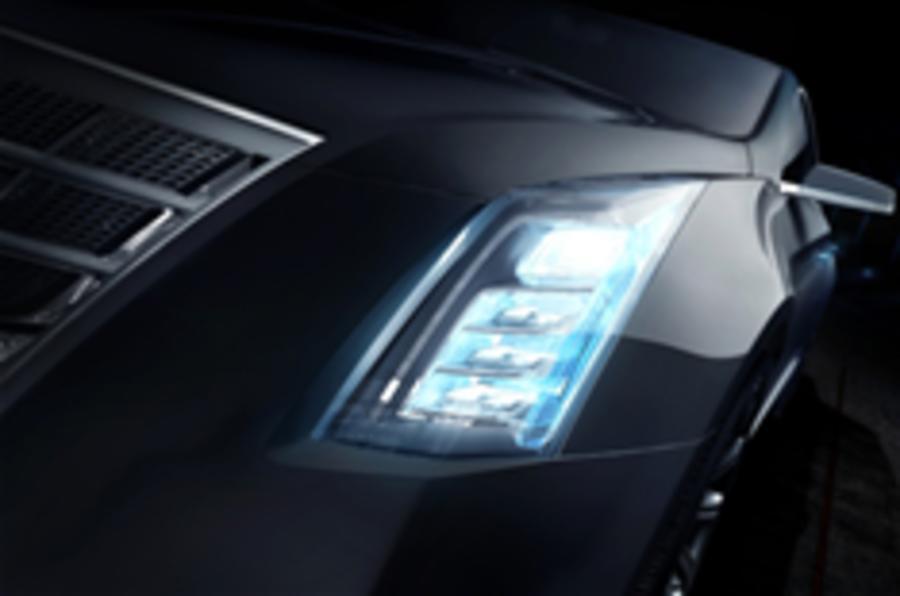 Detroit motor show: Cadillac's saloon