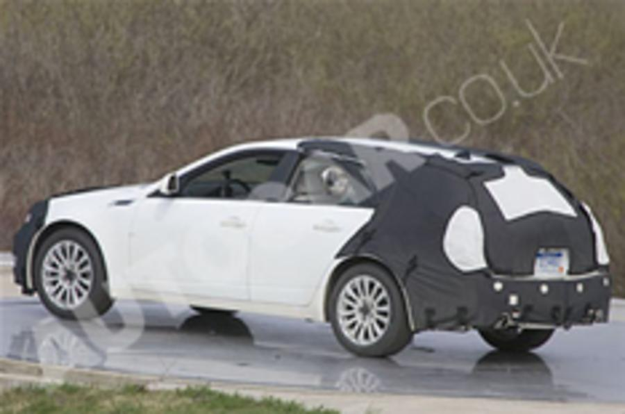 Spied: Cadillac CTS estate